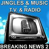 Jingle Radio et TV Break News 59 (Virgule info ciné musique)