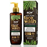 WOW Skin Science Anti Acne Face Wash - Oil Free - No Parabens