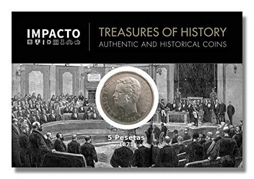 IMPACTO COLECCIONABLES Monedas Antiguas - España 5 Pesetas