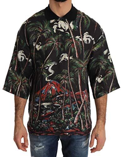 Dolce & Gabbana Camisa Hombre Negro TSH2285