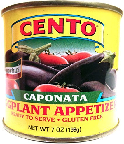 Cento Caponata Eggplant Appetizer, Pack of 6