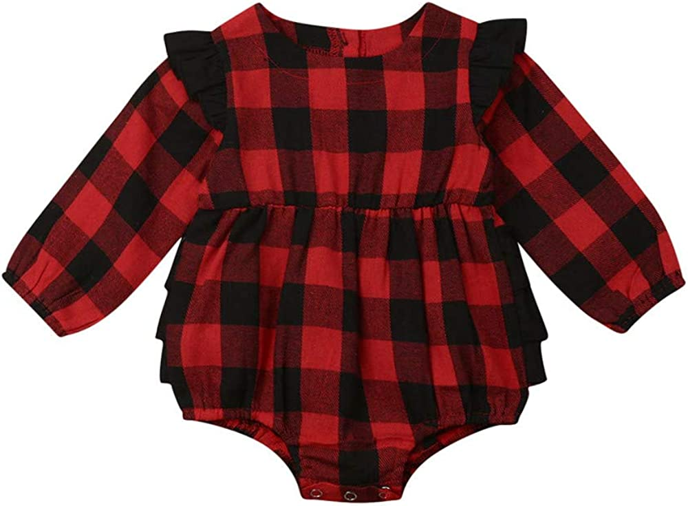 Toddler Baby Girl Clothes Plaid Qulted Puffer Vest Padded Gilet Jacket Outwear Winter Outfit