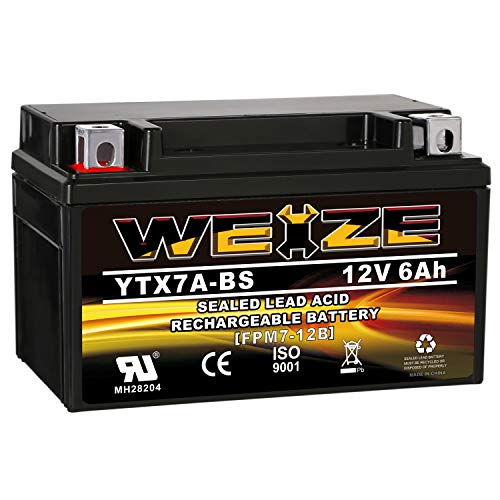 Weize YTX7A-BS High Performance - Maintenance Free...