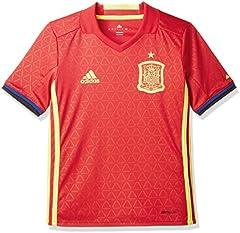 Adidas Camiseta Seleccion Espanola 1a Equipacion 2016/2017, nino