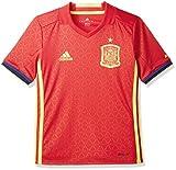adidas FEF H JSY Y Camiseta Selección Española de Futbol 1ª Equipación 2016/2017, niño, Rojo/Amarillo/Azul (Escarl/Amabri), 164