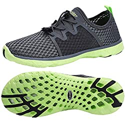 top rated ALEADER Men's aqua water shoes, comfortable tennis shoes for hiking, outdoors … 2021