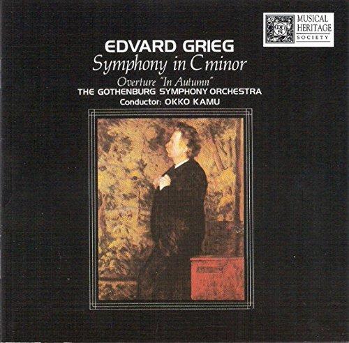 Edvard Griegg Symphony in C Minor [Audio CD] okko kamu