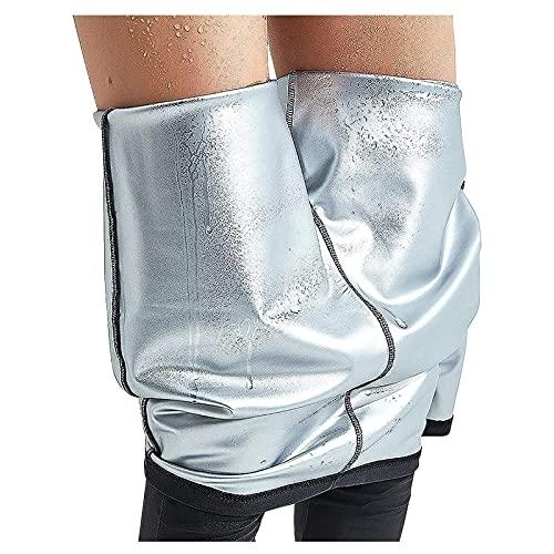 LQQSD Leggings Deportivos Leggings Adelgazantes Medias Femeninas Pantalones De Sudor Y Sauna Gimnasio Fitness Yoga Promueve La Sudoración para Las Mujeres (Color : Black, Size : S)