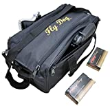 Explorer Tactical Range Bag Bail Out Bag Police Gear Bag Patrol Bag Hunting Shooting Bag, Black