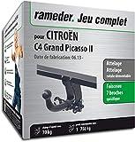 Rameder Attelage rotule démontable pour CITROËN C4 Grand Picasso II + Faisceau 7 Broches (133000-11572-2-FR)