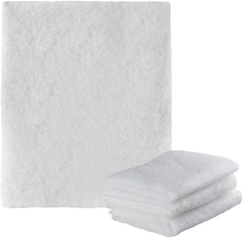 Selldorado® Filtres pour hotte aspirante, découpables, compatibles avec tous les modèles, tapis de filtration, 57 x 4...