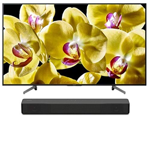 """Sony XBR-43X800G BRAVIA XBR X800G Series - 43"""" Class (2019 Model) with SONY HT-S200F 2.1 Channel Soundbar with Integrated Subwoofer Bundle"""