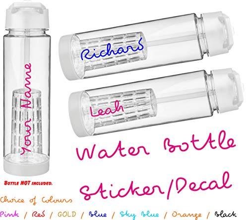 LOVE this WATER BOTTLE mit DEINEM NAMEN wasser flasche Sommer ISLAND strand TV