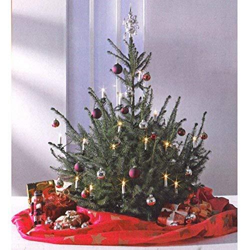 Christmas Trend 40055 Weihnachtsbaum-Deko-Decke, rot