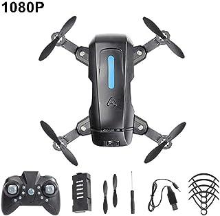 1 Drone, E78 Mini Drone RC Quadcopter Plegable 4K HD Video WiFi Control de aterrizaje de emergencia Control remoto Drones de avión de 4 ejes