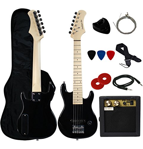 "2. YMC 30"" Kids Electric Guitar Pack"