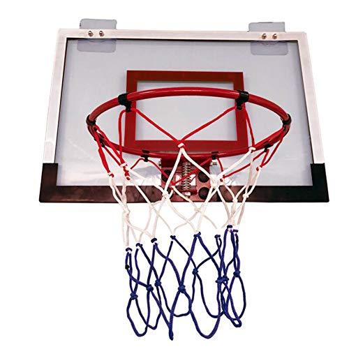 MHCYKJ Mini Hoop Basketball Basketbal Deur Game Opknoping Basketbalset Voor Kinderen Basketbalring En Net Draagbaar Binnen Buitenshuis