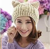 SED Sombrero De Mujer - Otoño Línea Beret Twist Invierno Ear Line Cap Sombrero De Punto Warm Hat,Pulir,Un tamaño