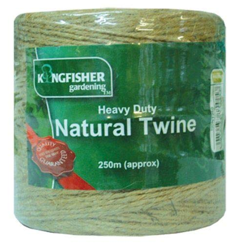 Unibos 250 Meter Heavy Duty Natural Garden Twine Garden String Jute Great Tough