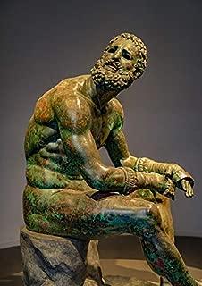 Photography Poster - Statue, Sculpture, Bronze, Boxer, 24