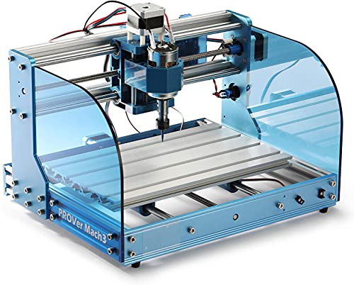 Genmitsu CNC Router Machine 3018-PROVer Mach3 with Mach3 Control, Limit Switches & Emergency-Stop,...