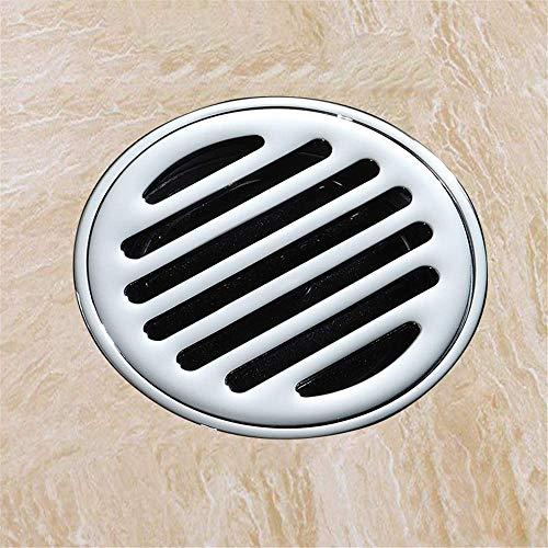 DYR Quadratischer Duschablaufboden, Chromablaufabdeckung, Waschbeckenstopper-Sets für das Badezimmer Badzubehör