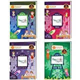 3H Learning's UKG/KG 2 -336 Pages-Early Learning Read,Write & Practice- 4 books combo- PractiZ fun@home [4-6 Yrs] (English/ Mathematics/ Hindi/GK) curated for complete year's syllabus for Kindergarten