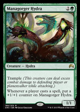 Magic The Gathering - Managorger Hydra (186/272) - Origins