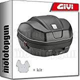 givi maleta wl901 weightless + porta-equipaje compatible con kymco downtown abs 125 i 2019 19