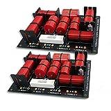 2 x Calidad 3 Way filtros de cruce para los altavoces de 400W