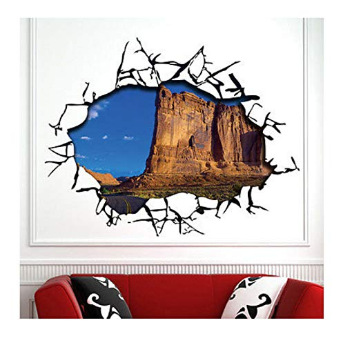 Hfwh muursticker, om zelf te maken, afneembaar, hemelsblauw