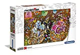 Clementoni - 36527 - Mordillo Puzzle - The Kiss - 6000 Pezzi - Made In Italy - Puzzle Adulti