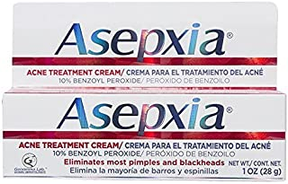 ASEPXIA Acne Spot Treatment Cream for Pimples & Blackhead with Benzoyl Peroxide (10%) Base