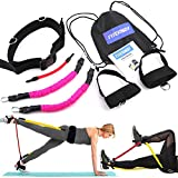 FITERWAY Booty Belt Resistance Bands Set Athletics Band Sets for Women Butt and Leg System Workout...