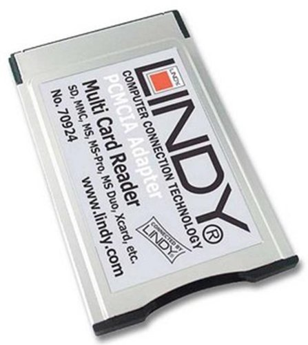 Lindy 46-in-1 PCMCIA Kartenleser