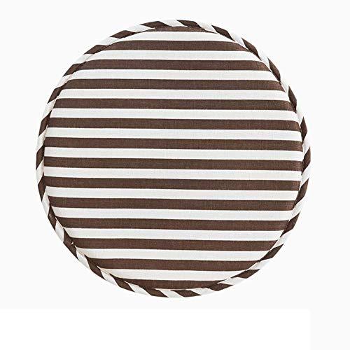 JD Bug Ronde stoel pads, zachte anti-slip ademende kruk kussen met banden voor de eetkamerstoel Barkruk Kantoorstoel Thuiszitkussen Diameter 33 cm (13 inch)