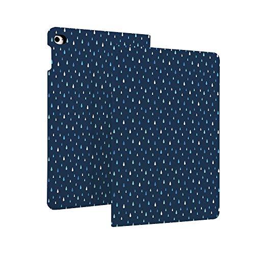 Indie - Funda para iPad de 7ª generación de 10,2' 2019, con cintas de casete vintage sobre mesa de madera de color aguamarina, diseño retro de música de la vieja escuela, funda protectora de piel giratoria inteligente con auto Sle multicolor Color_12 Case for iPad 10.2' 2019 (7th Generation)
