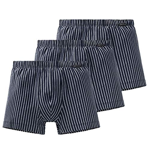 Schiesser - Shorts/Pant - 159614-3er Spar-Pack (6 Dunkelblau)