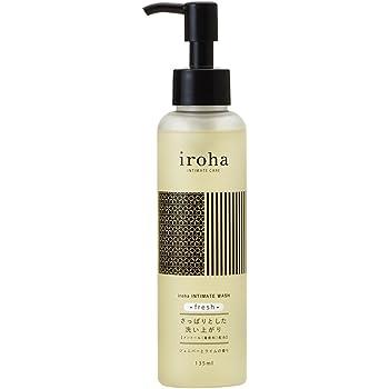 iroha デリケートゾーン専用ソープ インティメートウォッシュ フレッシュ ジュニパーとライムの香り メントール配合