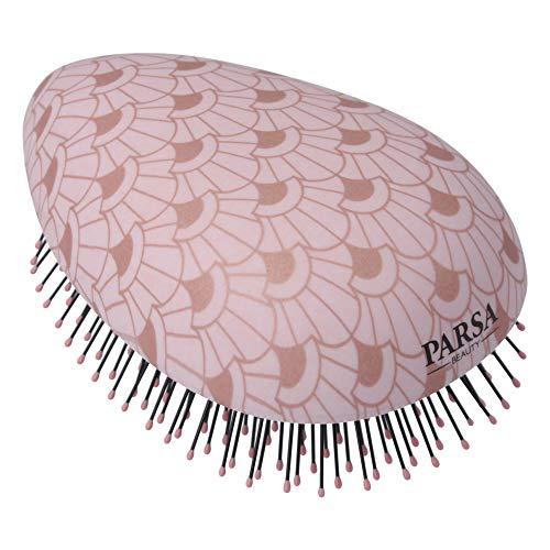 PARSA Beauty Brosse démêlante Wet & Dry - Compact Styler - Démêlant - Rose métallisé