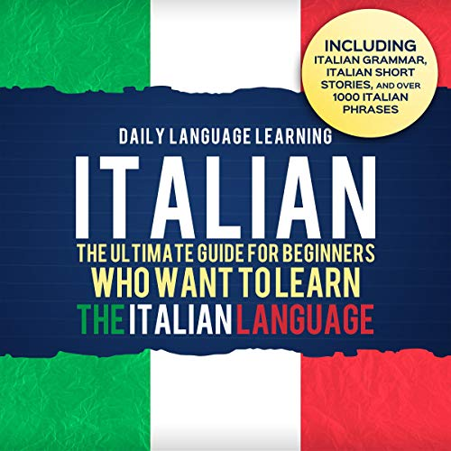 Italian audiobook cover art