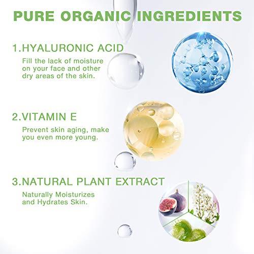 51OiKZL+ApL - Hyaluronic Acid Serum for Skin - 100% Pure Organic HA, Anti-Aging Face Serum for Dry Skin, Fine Lines. Hydrating, Repairing, Replumping, Suitable for Sensitive Skin, 1 Fl. Oz