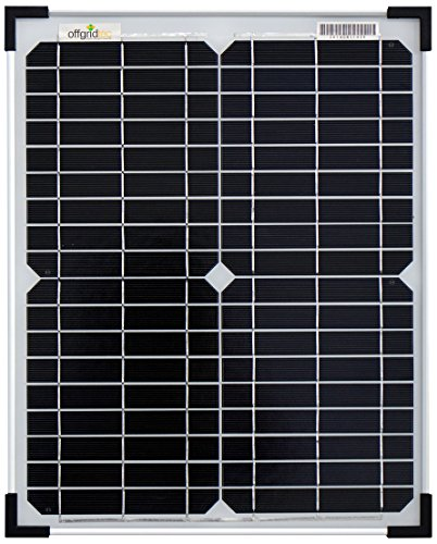 Offgridtec Mono Solarpanel / zelle, 12 V, 20 W, 001560