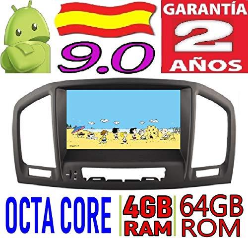 Opel Insignia CD200 / CD400 / CD600 / Android 8.0, Octa Core, 4GB RAM, 32 GB ROM/GPS Radio Coche DVD AUTORADIO, Car/Tpms WiFi 3g 4g RDS CD SD navi navegador Map Stereo/Años: 2008 2009 2010 2011 2012