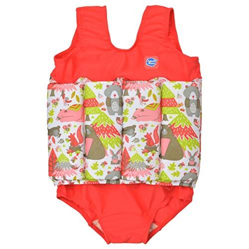 Splash About Mädchen Kinder-Schwimmanzug Mit Verstellbarem Auftrieb, Into The Woods, 2-4 Jahre