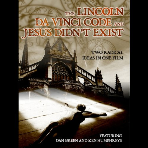 'The Lincoln Da Vinci Code' and 'Jesus Didn't Exist' audiobook cover art