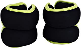 TA Sport Soft Ankle and Wrist Weight 1 Kg, 2 Pieces, Black