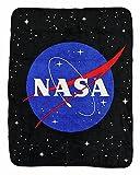 NASA Space Logo Fleece Throw Blanket