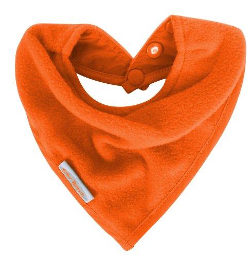 Silly Billyz SIB-100MA Bavoir style bandana Fibre polaire Orange