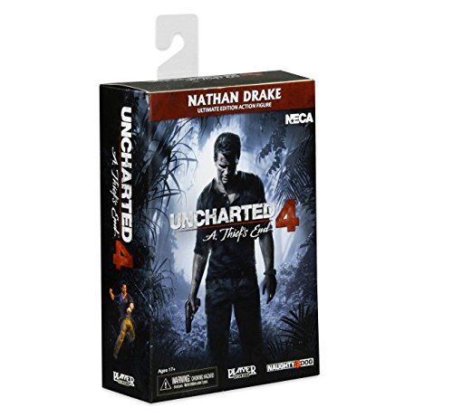 Uncharted 44946 Ultimate Nathan Drake Figur, 17,8 cm